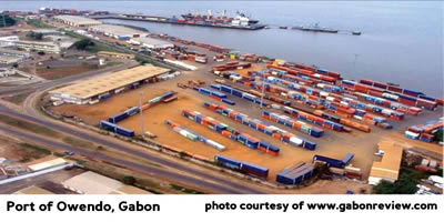 Port of Owendo Gabon